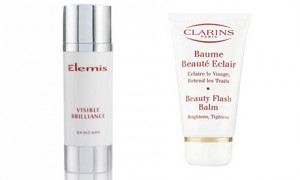 Elemis Visible Brilliance and Clarins Baume Beaute Eclair